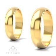 Obrączki z żółtego złota (10003B)