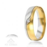 Obrączki z wielokolorowego złota (301)