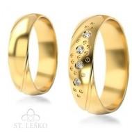 Obrączki z żółtego złota (304)