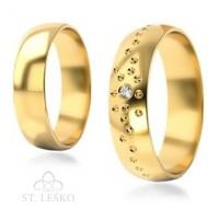 Obrączki z żółtego złota (306)