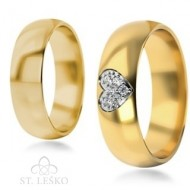 Obrączki z wielokolorowego złota (310)