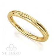 Obrączka z żółtego złota (505)