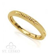 Obrączka z żółtego złota (506)